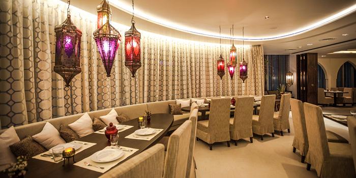 Dining Area of Al Saray - Soonvijai at 4th floor, Bangkok Plaza Building Bangkok General Hospital, Soi Soonvijai 7 Bangkapi Huai Khwang,  Bangkok