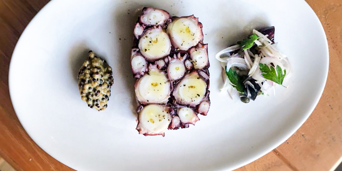 Octopus Terrine from Humpback in Chinatown, Singapore