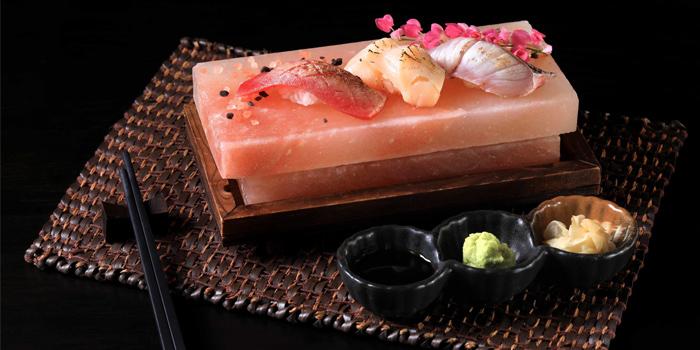 Food from Mikha Japanese Restaurant in Rawai, Phuket, Thailand.