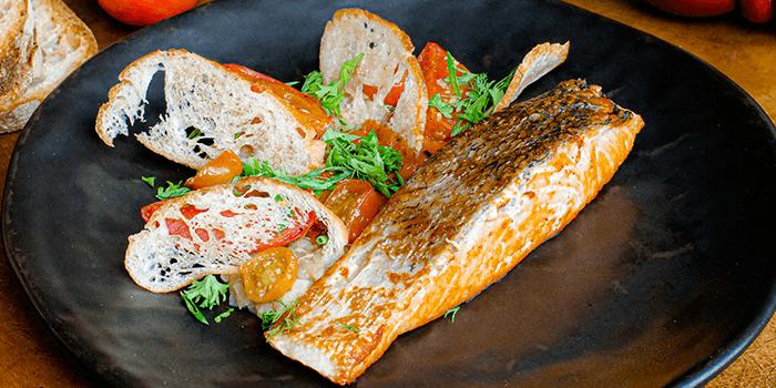 Salmon Provencal from Cocotte Farm Roast & Winery on Sukhumvit Soi 39, Bangkok