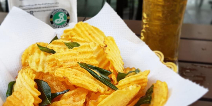 Laksa Crisps from Bar Bar Black Sheep (Cherry Avenue) in Bukit Timah, Singapore