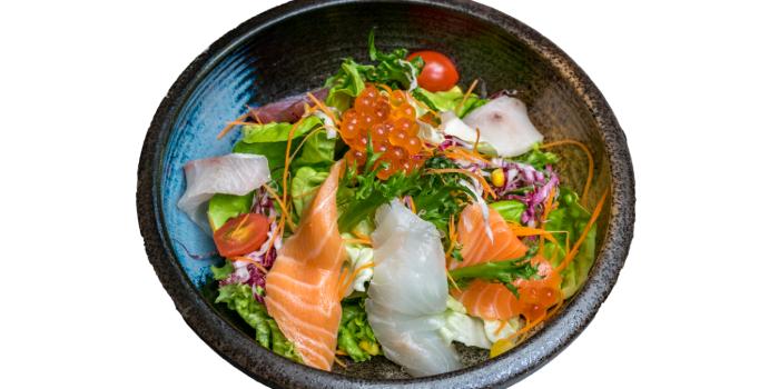 Iro-Iro Salad from Jin Fine Dining in Telok Ayer, Singapore