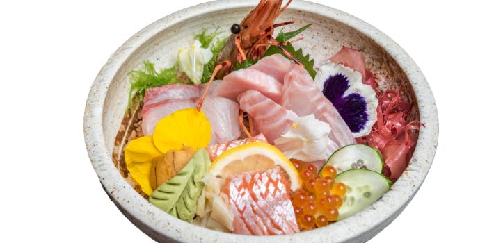 Premium Chirashi from Jin Fine Dining in Telok Ayer, Singapore