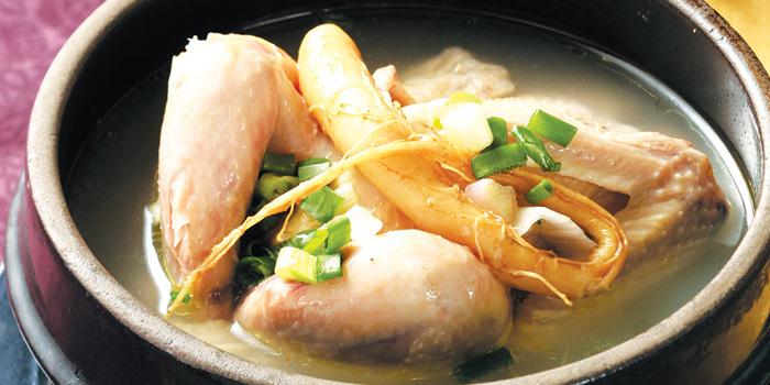 Ginseng Chicken Soup, Arirang Korean Restaurant, Wan Chai, Hong Kong