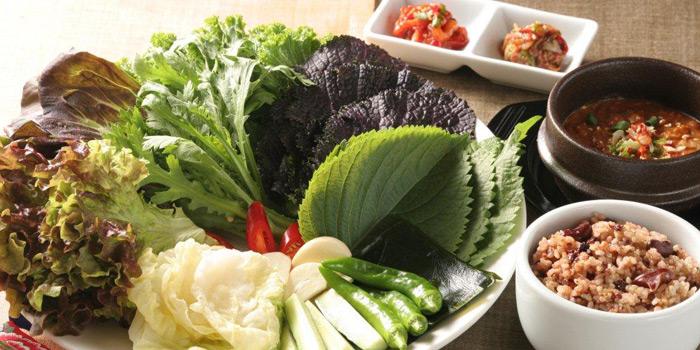 Ssahm Bahb Vegetarian, Arirang Korean Restaurant, Wan Chai, Hong Kong
