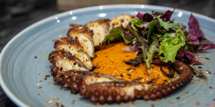 Grilled Octopus from Hair of the Dog in Dhoby Ghaut, Singapore