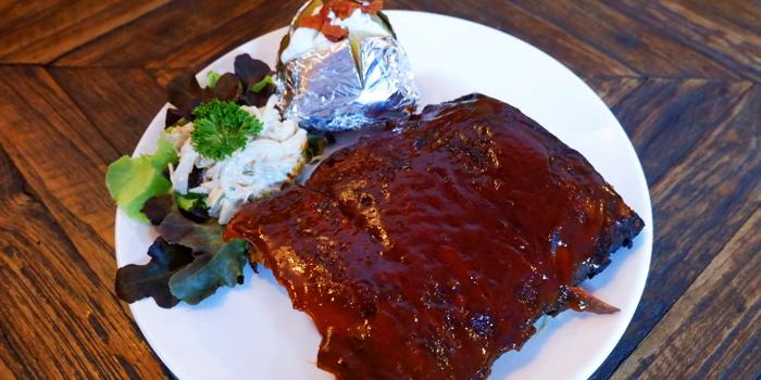 BBQ Pork Ribs from Blue Boar Pub & Restaurant at 21/3 Sukhumvit Soi 18, Khlong Toei, Khlong Toei, Bangkok