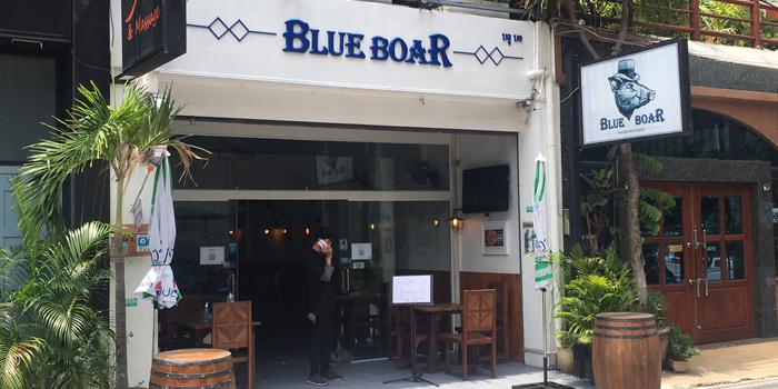 Entrance of Blue Boar Pub & Restaurant at 21/3 Sukhumvit Soi 18, Khlong Toei, Khlong Toei, Bangkok