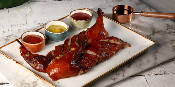 Half Roasted Duck from Duckland at United Square Shopping Mall in Novena, Singapore