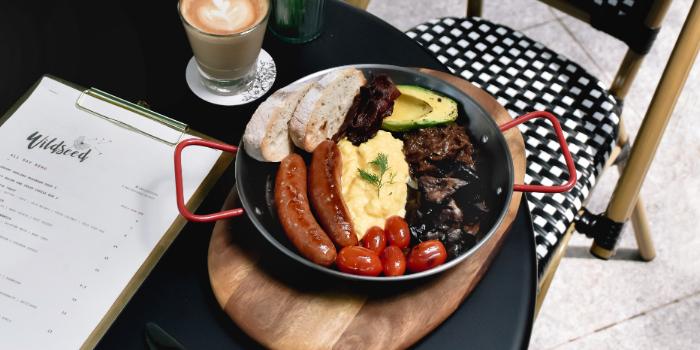 Big Pan Breakfast from Wildseed Cafe at The Alkaff Mansion in Telok Blangah, Singapore