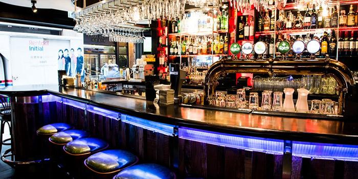 Interior, The Old Monk Bar & Grill, Tsim Sha Tsui, Hong Kong