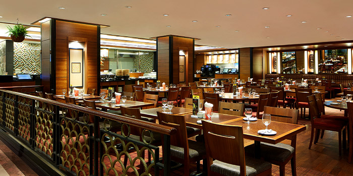 Outdoor from Princess Terrace Authentic Penang Food at Copthorne Kings Hotel Singapore in Robertson Quay, Singapore