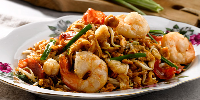 Penang Fried Kway Teow from Princess Terrace Authentic Penang Food at Copthorne Kings Hotel Singapore in Robertson Quay, Singapore