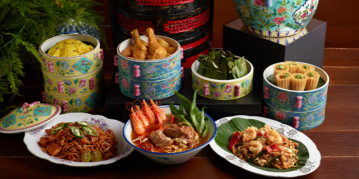 Assorted from Princess Terrace Authentic Penang Food at Copthorne Kings Hotel Singapore in Robertson Quay, Singapore