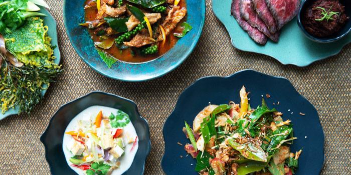 Selection of Food from nahm at COMO METROPOLITAN BANGKOK 27 South Sathorn Road Tungmahamek, Sathorn Bangkok