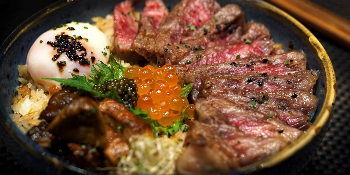 21 Days Nagasaki A5 Dry Aged Wagyu Donburi from Fat Cow at Camden Medical Centre in Tanglin, Singapore