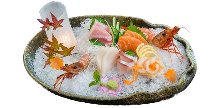Sashimi Mori 7 Kinds from Jin Fine Dining in Telok Ayer, Singapore