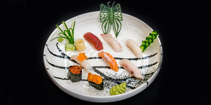 Sushi Mori Set from Jin Fine Dining in Telok Ayer, Singapore