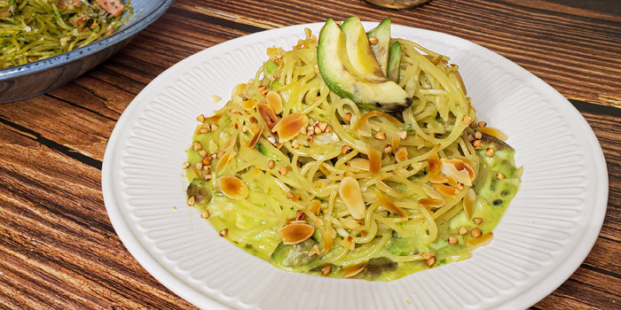 Spaghetti with Fresh Avocado, Cream, Off Town Kitchen, Sai Ying Pun, Hong Kong