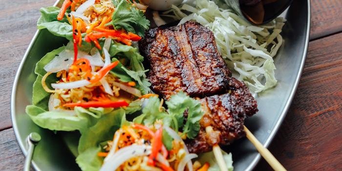 Moo Ping from Vistro at 46/1 Sukhumvit 24 Alley Klongton, Khlong Toei Bangkok