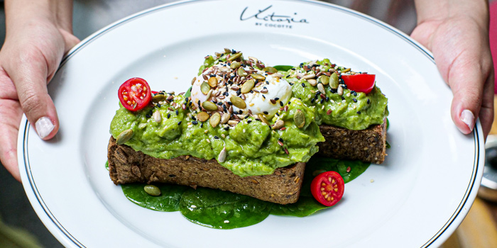Avocado Toast from Victoria By Cocotte at EmQuartier 637 Sukhumvit Rd Khlong Tan Nuea, Watthana Bangkok