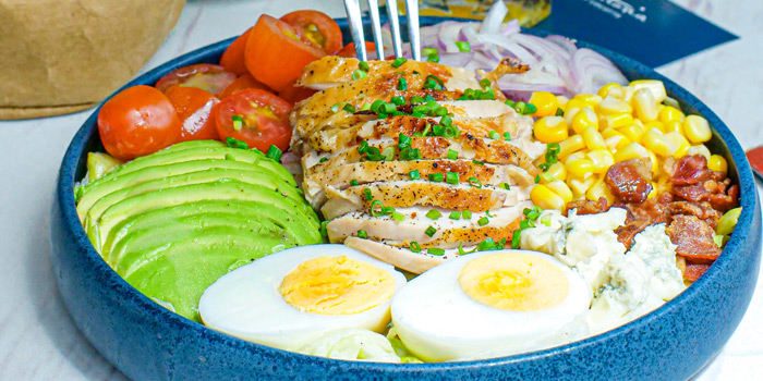 Cobb Salad from Victoria By Cocotte at EmQuartier 637 Sukhumvit Rd Khlong Tan Nuea, Watthana Bangkok