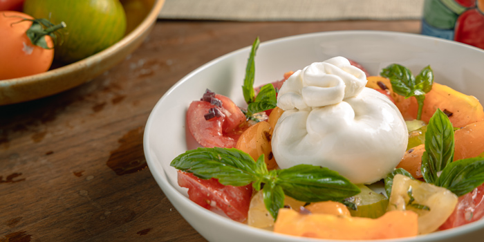Burrata from Salvia at 494 Ratchadamri Road, Lumphini, Pathum Wan, Bangkok,