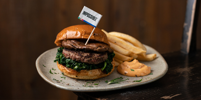 Impossible Burger, Classified (Exchange Square), Central, Hong Kong