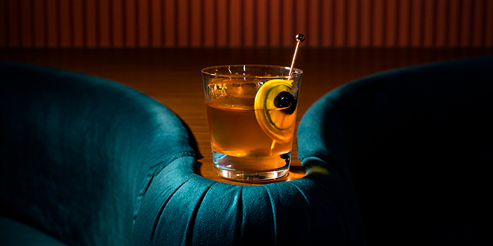 Old Fashion from Jigger and Pony at Amara Hotel in Tanjong Pagar, Singapore