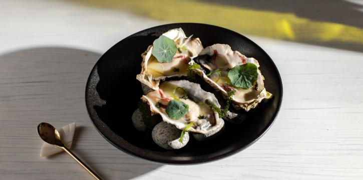 Belon Oyster from The Masses in Bugis, Singapore