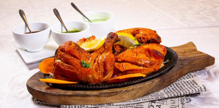 Roasted Chicken, Tandoori Nights, Tsim Sha Tsui, Hong Kong