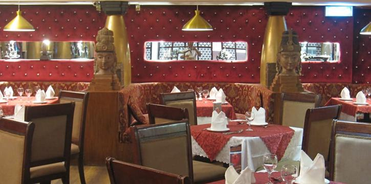 Interior, Tandoori Nights, Tsim Sha Tsui, Hong Kong