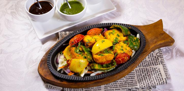 Fried Vegetable with Fish, Tandoori Nights, Tsim Sha Tsui, Hong Kong
