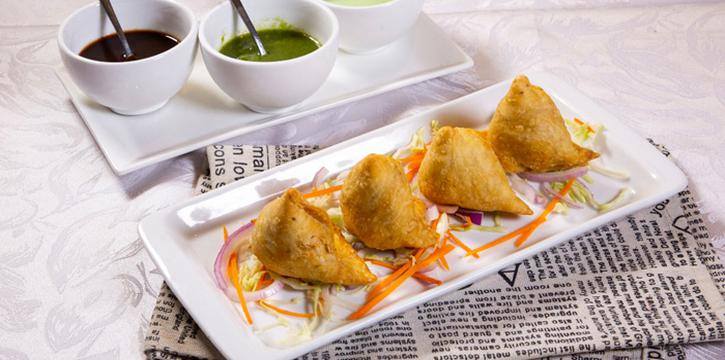 Vegetable Samosa, Tandoori Nights, Tsim Sha Tsui, Hong Kong