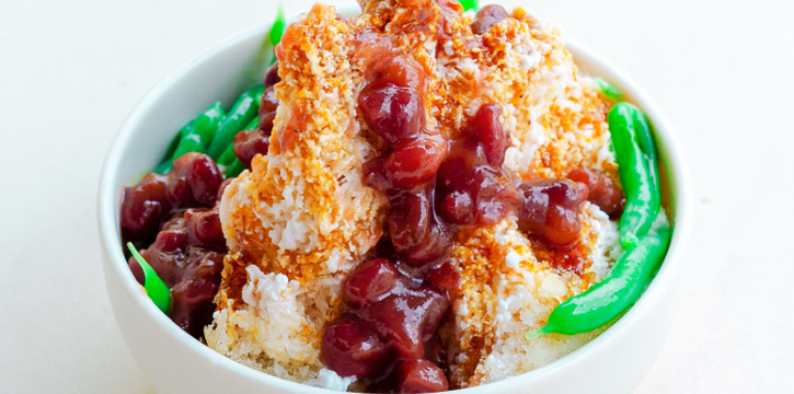 Cendol from The Coconut Club in Telok Ayer, Singapore