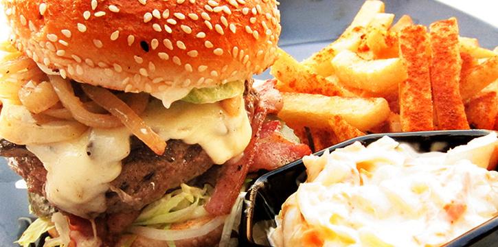 Western Burger from Bar Bar Black Sheep (Robertson Quay) at Robertson Blue in Robertson Quay, Singapore