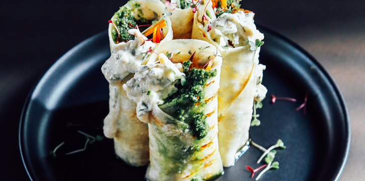 Habibi Wrap from Vistro at 46/1 Sukhumvit 24 Alley Klongton, Khlong Toei Bangkok