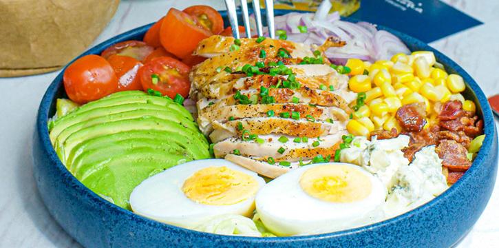 Cobb Salad from Victoria By Cocotte at EmQuartier 637 Sukhumvit Rd Khlong Tan Nuea, Watthana Bangkok
