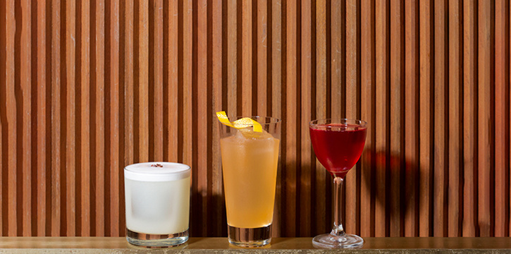 Fossa Collab Cocktails from Jigger and Pony at Amara Hotel in Tanjong Pagar, Singapore