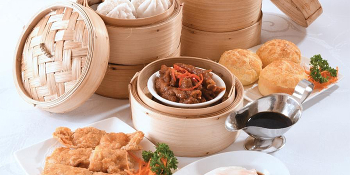 Dim Sum Lunch from Asia Grand Restaurant at Odeon Towers in City Hall, Singapore