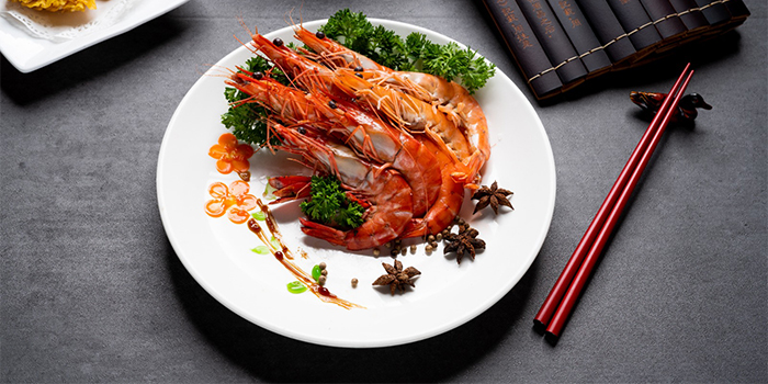 White Pepper Prawn from Asia Grand Restaurant at Odeon Towers in City Hall, Singapore