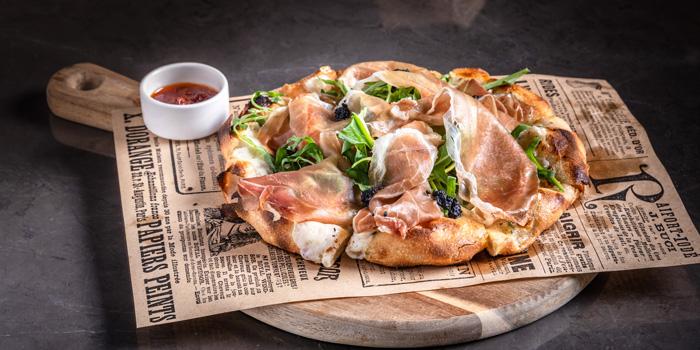 Pizza Dishes from Cooling Tower Rooftop Bar at Carlton Hotel Bangkok Sukhumvit, 491 Sukhumvit Rd, Khlong Toei Nuea, Watthana, Bangkok