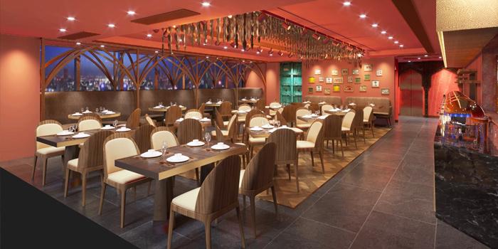 Interior, Gaylord Indian Restaurant, Tsim Sha Tsui, Hong Kong
