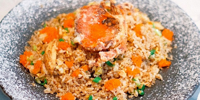 Crab Fried Rice at Devon Café (Senayan City)