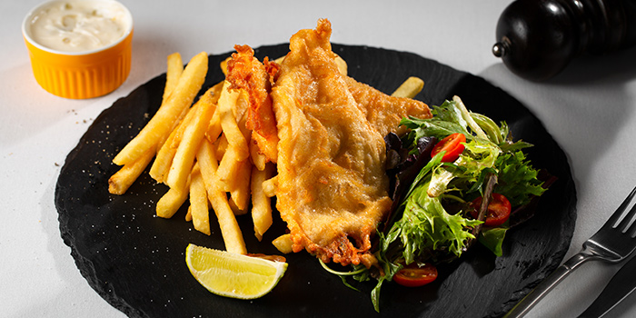Fish & Chips from Cali, Park Avenue Rochester Hotel at Park Avenue Hotel in Rochester, Singapore
