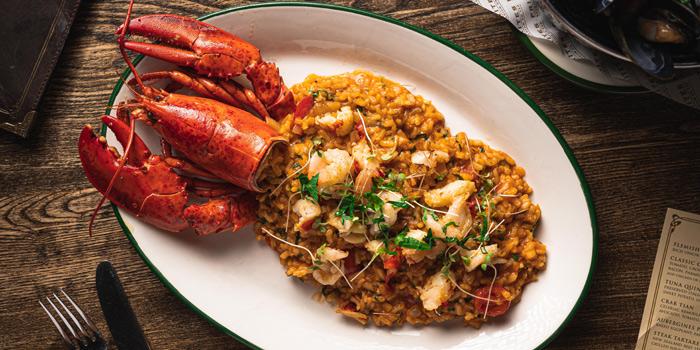 Whole Lobster Risotto, FRITES Belgium on Tap (Tseung Kwan O), Hong Kong
