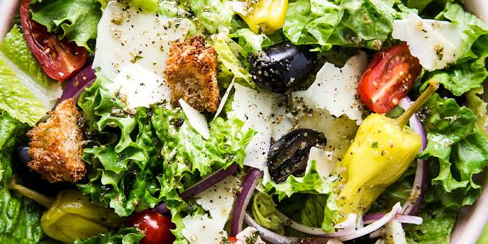 Classic Italian Salad from Bistro XY in Bugis, Singapore