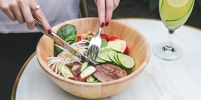 Beef Thai Salad Bowl, Prompt, Cyberport, Hong Kong