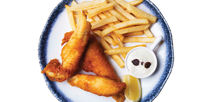 Old Skool Fish & Chips from The Grumpy Bear at Thomson Plaza in Thomson, Singapore