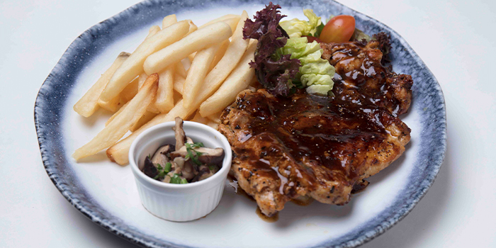 Black Pepper Chicken from The Grumpy Bear at Bukit Timah Plaza in Bukit Timah, Singapore